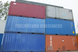 Shipping Container Stock Chelmsford