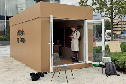 Exhibition Shipping Container