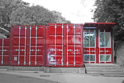 Art Gallery Shipping Container