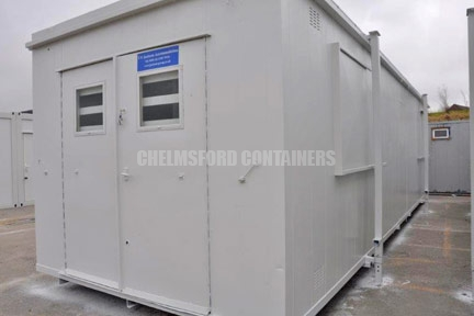 Building Site Containers
