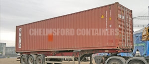 High Cube Specialised Container Chelmsford